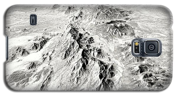 Arizona Desert In Black And White Galaxy S5 Case