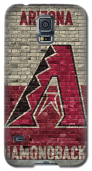 Arizona Diamondbacks Brick Wall Galaxy S5 Case by Joe Hamilton