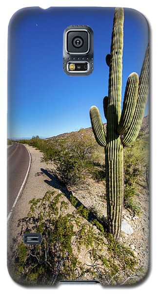 Galaxy S5 Case featuring the photograph Arizona Highway by Ed Cilley