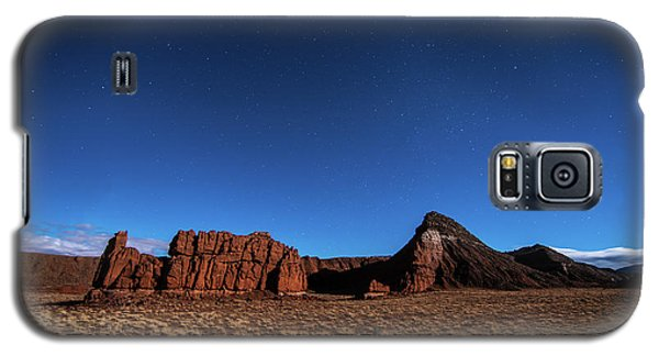 Arizona Landscape At Night Galaxy S5 Case