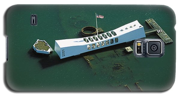 Arizona Memorial Aerial Galaxy S5 Case by Dana Edmunds - Printscapes