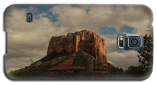 Galaxy S5 Case featuring the photograph Arizona Red Rocks Sedona 0222 by David Haskett