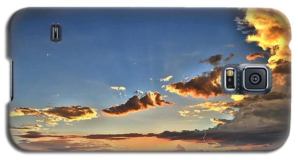 Arizona Sunset Storm Galaxy S5 Case