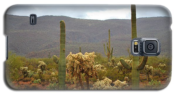 Galaxy S5 Case featuring the photograph Arizona's Sonoran Desert  by Donna Greene