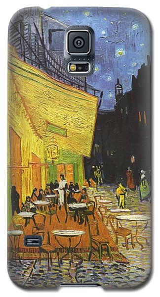 Arles Cafe Terrace At Night Galaxy S5 Case