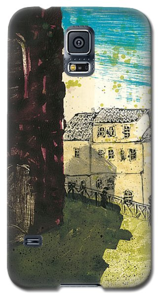 Galaxy S5 Case featuring the painting Arles Near Arena Provence by Martin Stankewitz