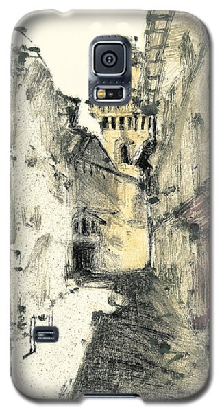 Galaxy S5 Case featuring the painting Arles Provence by Martin Stankewitz