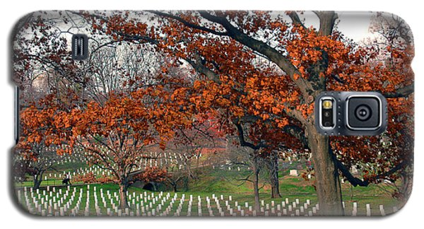 Arlington Cemetery In Fall Galaxy S5 Case