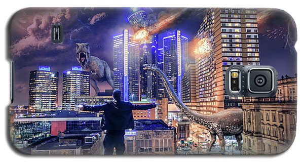 Galaxy S5 Case featuring the photograph Armageddon Detroit by Nicholas Grunas