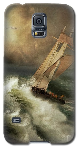 Galaxy S5 Case featuring the photograph Armageddon by Nancy Dempsey