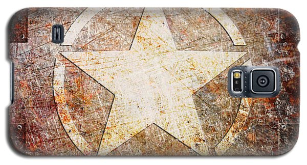 Army Star On Rust Galaxy S5 Case