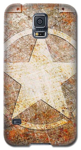 Army Star On Rust Galaxy S5 Case