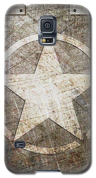 Army Star On Steel Galaxy S5 Case