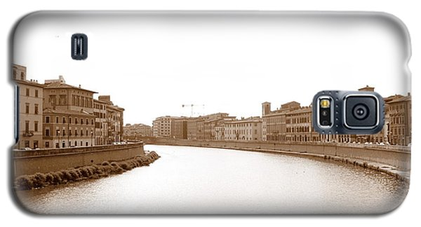 Arno River In Pisa Galaxy S5 Case