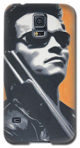Arnold Schwarzenegger 2013 Galaxy S5 Case by Luis Ludzska
