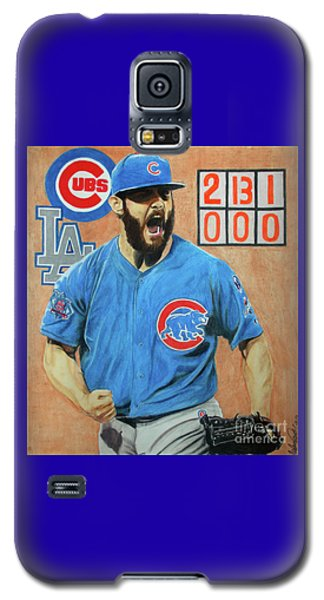 Arrieta No Hitter - Vol. 1 Galaxy S5 Case