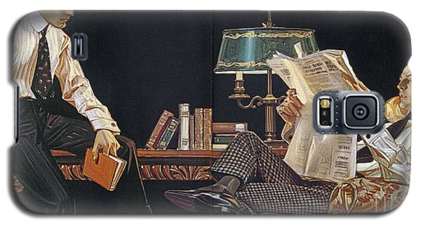 Arrow Shirt Collar Ad, 1914 Galaxy S5 Case