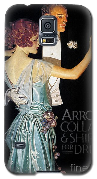 Arrow Shirt Collar Ad, 1923 Galaxy S5 Case