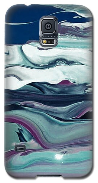 Art Abstract Galaxy S5 Case by Sheila Mcdonald