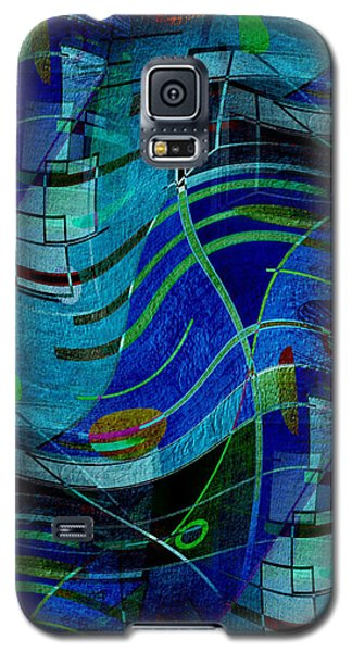 Art Abstract With Culture Galaxy S5 Case by Sheila Mcdonald