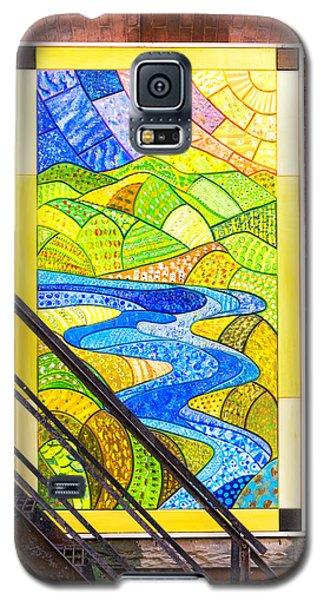 Art And The Fire Escape Galaxy S5 Case