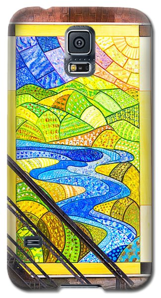 Art And The Fire Escape Galaxy S5 Case