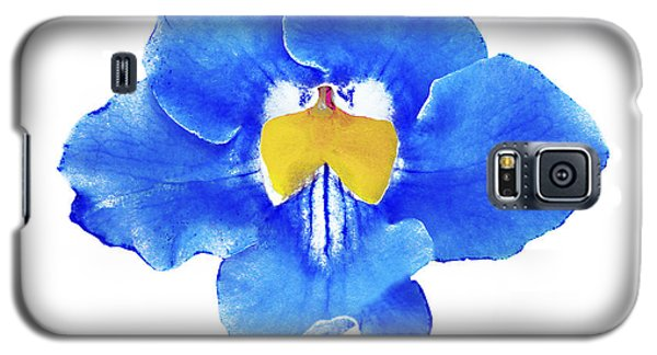 Art Blue Beauty Galaxy S5 Case