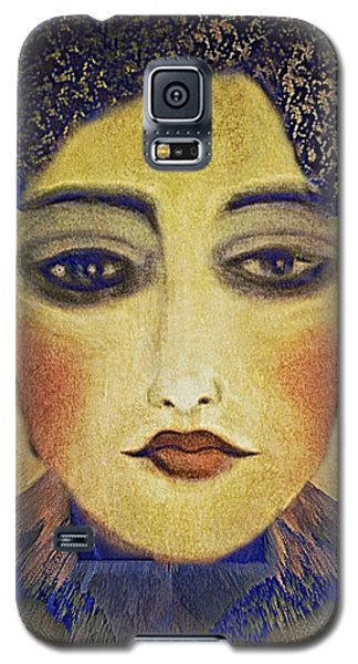 Art Deco  Beauty Galaxy S5 Case by Alexis Rotella