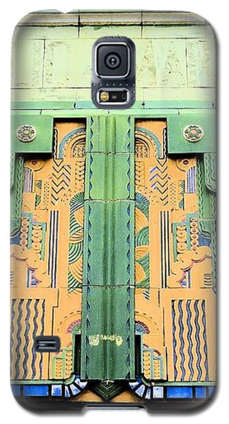 Art Deco Facade At Old Public Market Galaxy S5 Case by Janette Boyd