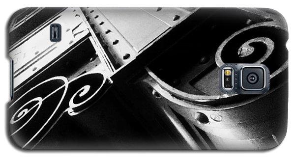 Art Deco Steel Galaxy S5 Case by James Aiken