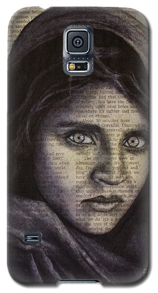 Art In The News 64-afghan Girl Galaxy S5 Case