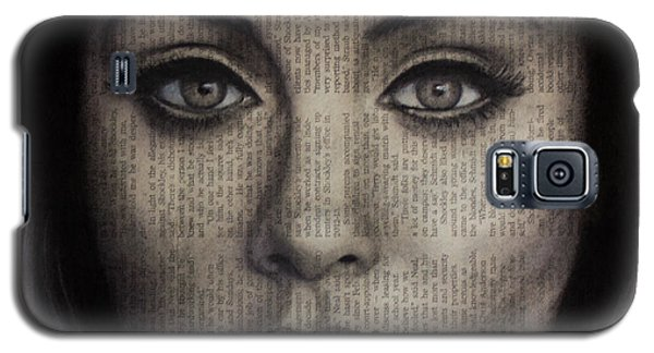 Art In The News 72-adele 25 Galaxy S5 Case