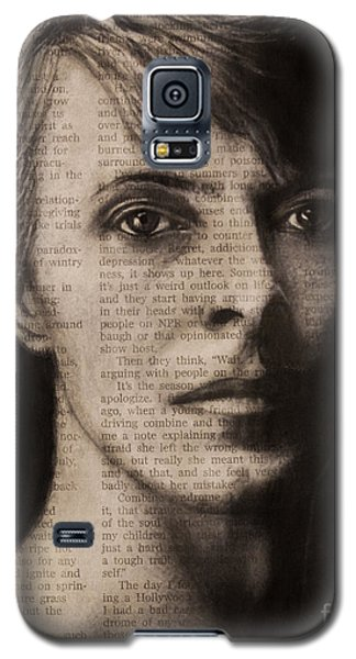 Art In The News 78-bowie Galaxy S5 Case