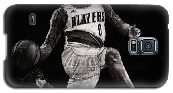 Art In The News- Lillard Galaxy S5 Case