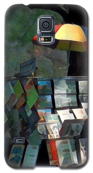 Art In The Park - Central Park New York Galaxy S5 Case