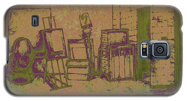 Art Intro Mixed Media Galaxy S5 Case