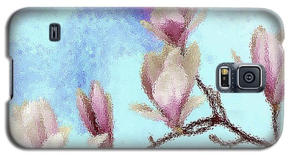 Art Magnolia Galaxy S5 Case