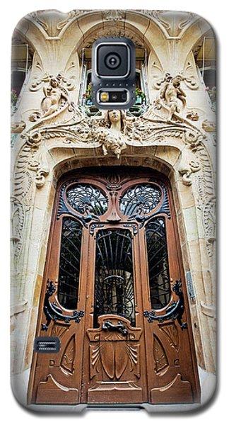 Galaxy S5 Case featuring the photograph Art Nouveau Doors - Paris, France by Melanie Alexandra Price