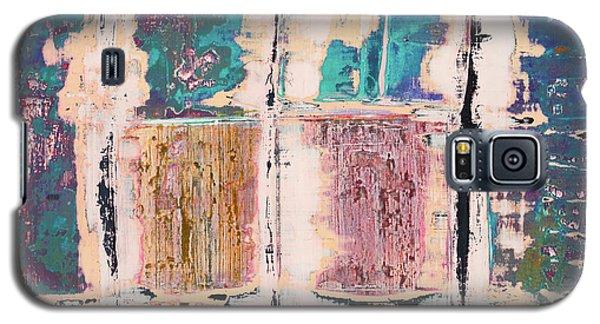 Art Print Square 8 Galaxy S5 Case
