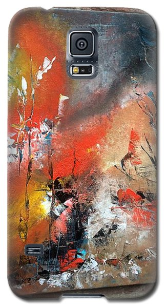 Galaxy S5 Case featuring the painting Art Work by Sheila Mcdonald