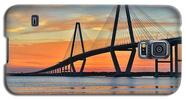 Arthur Ravenel Jr. Bridge At Dusk - Charleston Sc Galaxy S5 Case