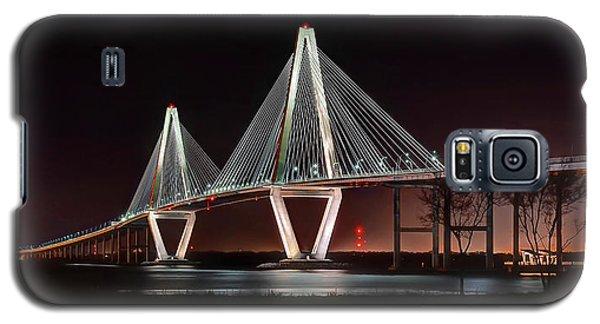Arthur Ravenel Jr. Bridge At Midnight Galaxy S5 Case