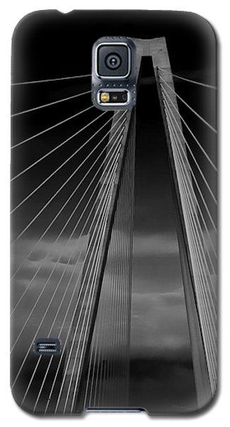 Arthur Ravenel Jr Bridge Galaxy S5 Case by DigiArt Diaries by Vicky B Fuller