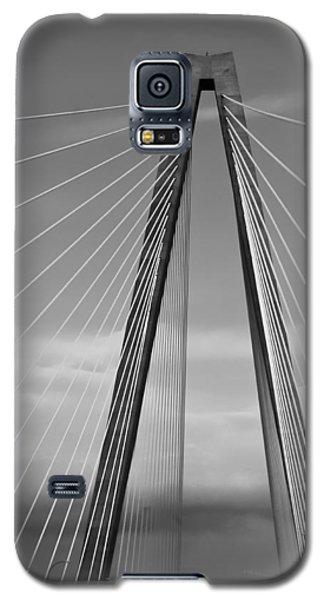 Arthur Ravenel Jr Bridge II Galaxy S5 Case by DigiArt Diaries by Vicky B Fuller