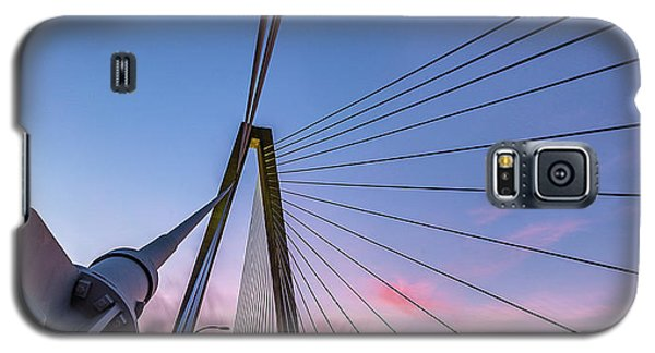 Arthur Ravenel Jr. Bridge Light Trails Galaxy S5 Case