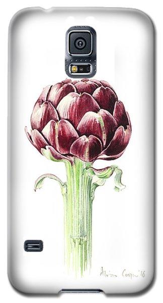 Artichoke From Roman Market Galaxy S5 Case by Alison Cooper