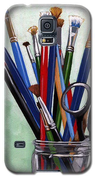 Artist Brushes Galaxy S5 Case