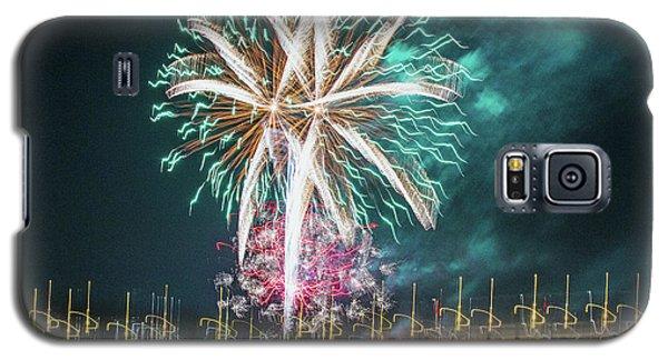 Artistic Fireworks Galaxy S5 Case