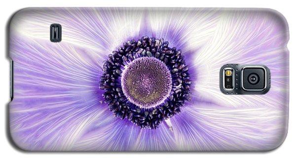 Artistic Poppy Anemone Galaxy S5 Case