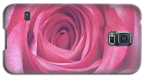 Artistic Red Rose Galaxy S5 Case